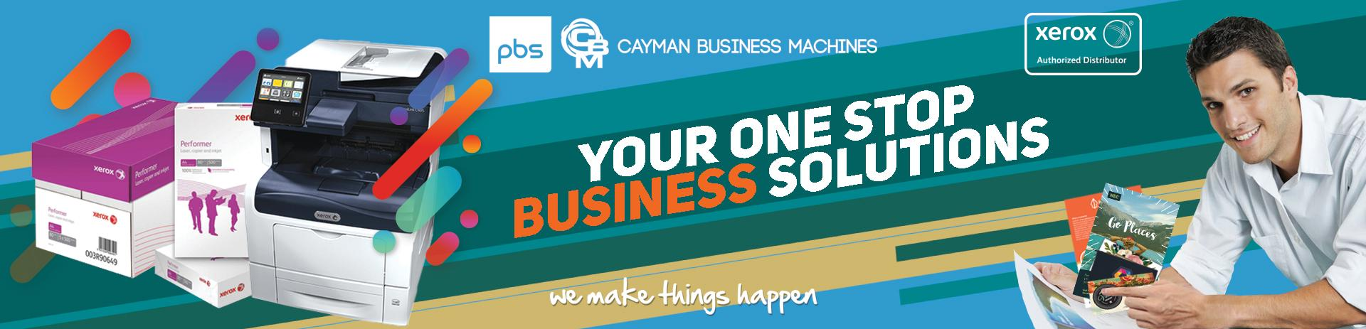 Cayman Business Machines Banner