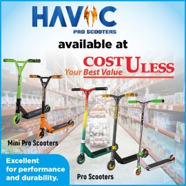 Havoc Pro Scooters Available