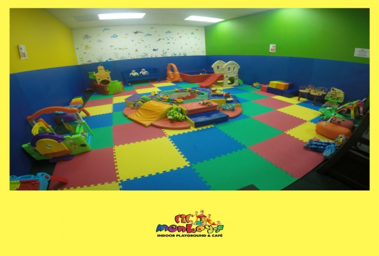 Padded Toddler Area for Soft Play
