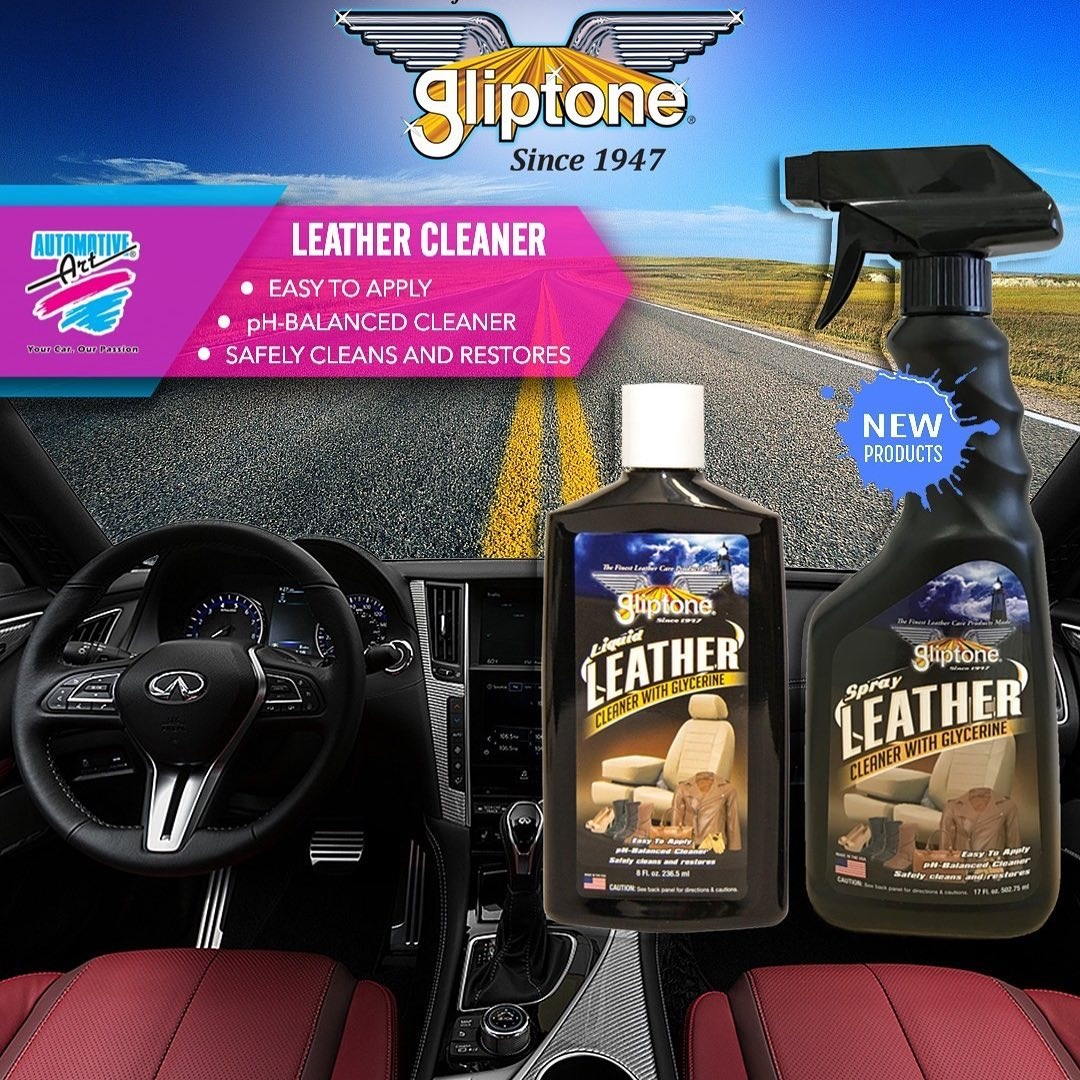 GLIPTONE's Leather Cleaner