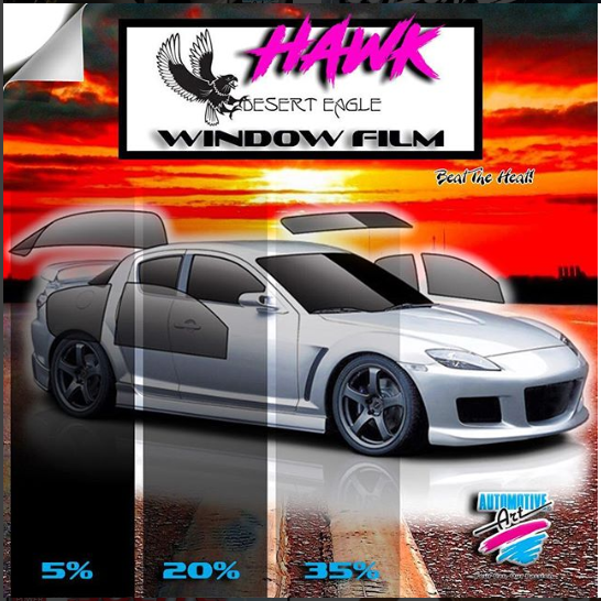 Automotive Art can help you Fight The Heat.. come in and ask about our tint got Auto and Home