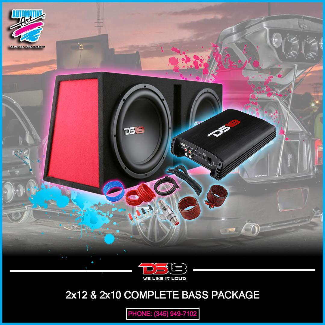 DS18 BASS SOUND SYSTEM PACKAGE