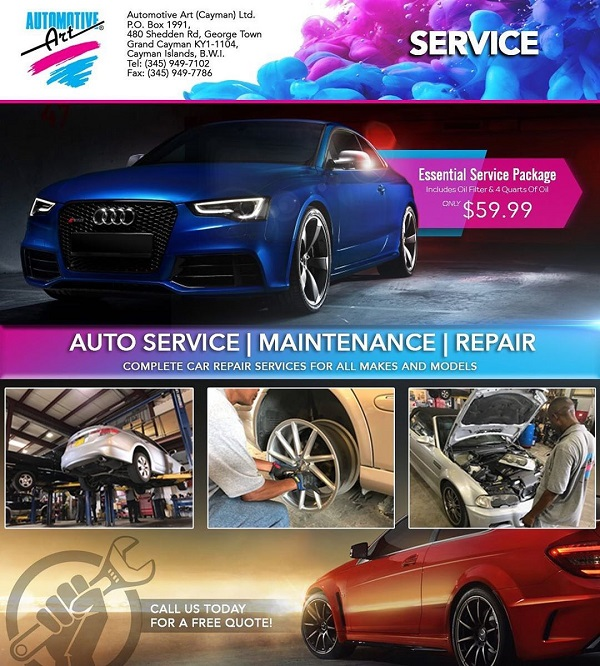 Automotive Art's Car Servicing Department