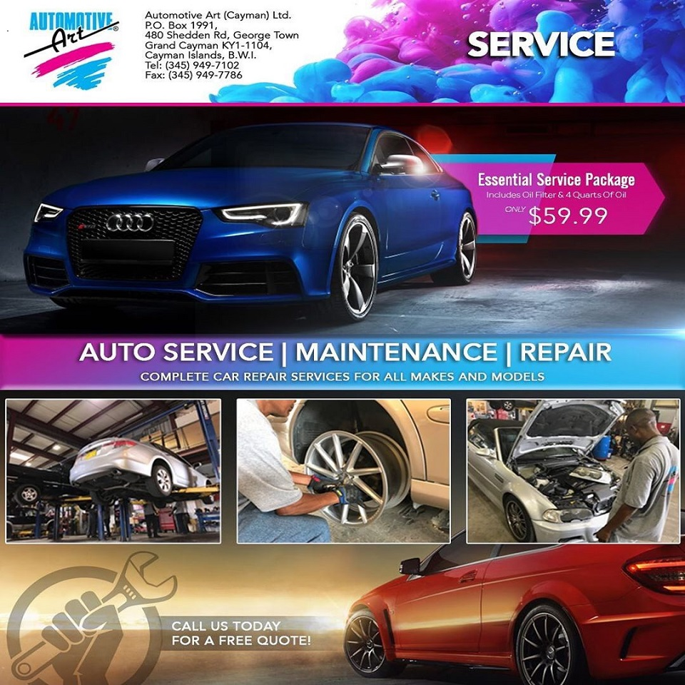 Automotive Art's Car Servicing
