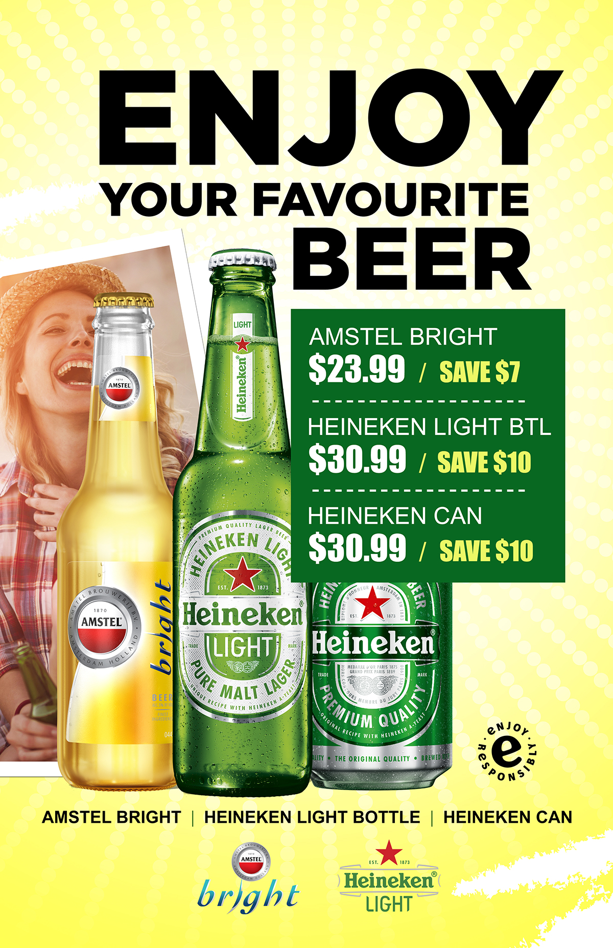 save on cases of beer