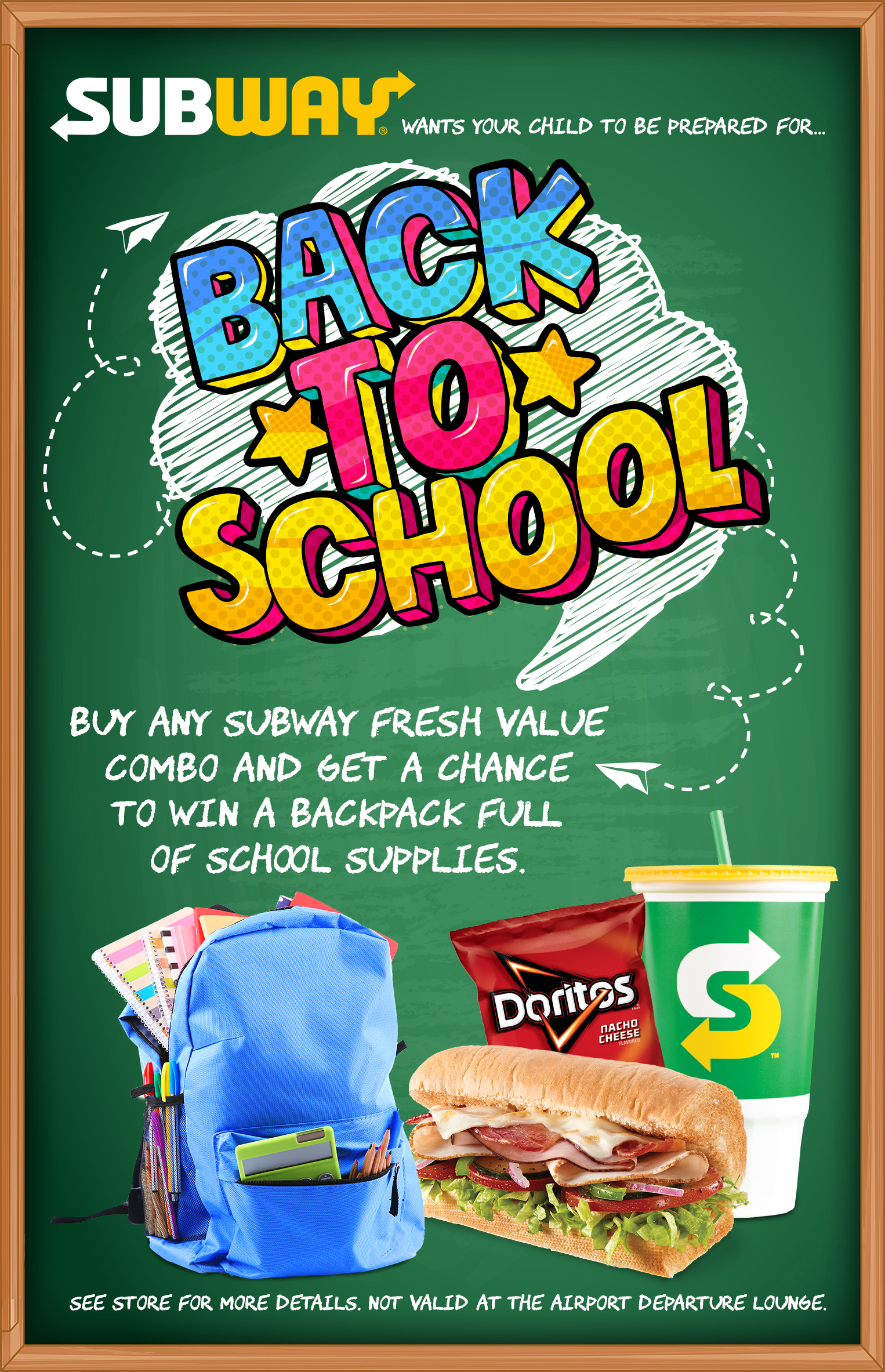 Back 2 School With Subway