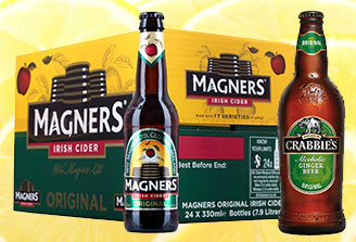 Ciders and coolers