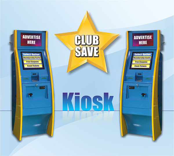 Club Save Mobile Kiosk